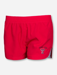 Arena Texas Tech Double T Women's Runaway Red Shorts
