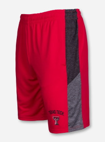 Arena Texas Tech Friction Red Shorts