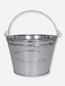 Texas Tech Metal Pail