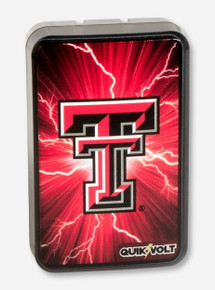 Texas Tech Double T on Dual-USB Port Wall Charger