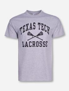 Texas Tech Lacrosse Heather Grey T-Shirt