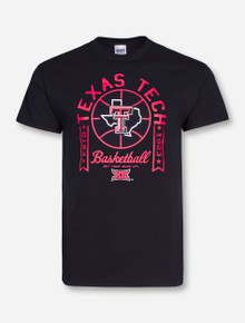 Texas Tech Basketball Lone Star Pride Black T-Shirt