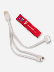 Texas Tech on Rechargeable Red Power Bank