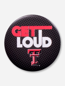 Texas Tech Get Loud Gameday Button
