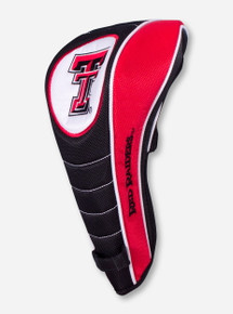 Team Effort Texas Tech Double T on Shaft Gripper Driver Head Cover