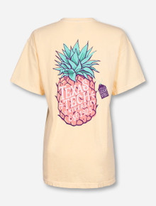 Texas Tech Pineapple Vibes on Butter T-Shirt