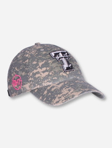 "47 Brand Texas Tech ""Operation Hat Trick Nilan"" Women's Camo Adjustable Cap"