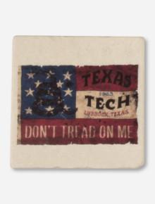 Texas Tech Contino Flag Marble Coaster