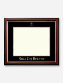 Gold Foil Seal Petite Mahogany Diploma Frame U4