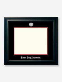 Silver Medallion Satin Black Diploma Frame U7