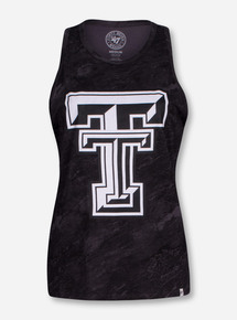 "47 Brand Texas Tech ""Marble"" Women's Black Tank Top"