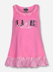 Texas Tech INFANT Bubblegum Pink Lace Dress