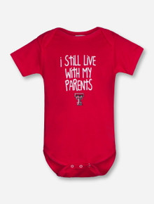 "Texas Tech ""Livin"" INFANT Red Onesie"