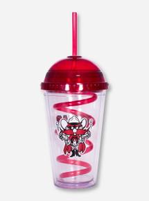 Texas Tech Raider Red Slurpee Cup with Straw