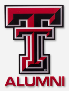 Texas Tech Full Color Double T Alumni Decal