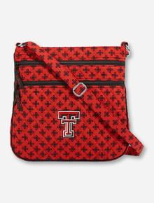 Vera Bradley Texas Tech Triple Zip Hipster Bag