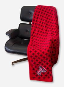 Vera Bradley Texas Tech XL Throw Blanket