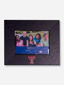 Texas Tech Embossed Black Frame