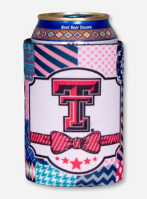 Texas Tech Double T Quilted Koozie