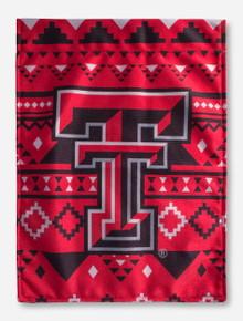 Texas Tech Double T Aztec Vertical Flag