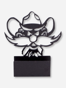 Texas Tech Raider Red Ironworks Business Card Holder