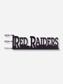 Texas Tech Red Raiders Ironworks Rain Gauge