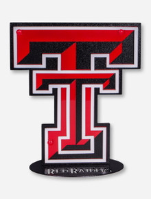 "Texas Tech Double T Ironworks 12"" Stand"