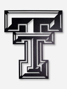 Texas Tech Double T 2ft Ironworks Sign