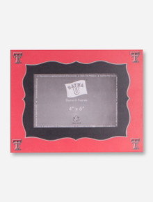 Texas Tech Classic Photo Book Red and Black Frame