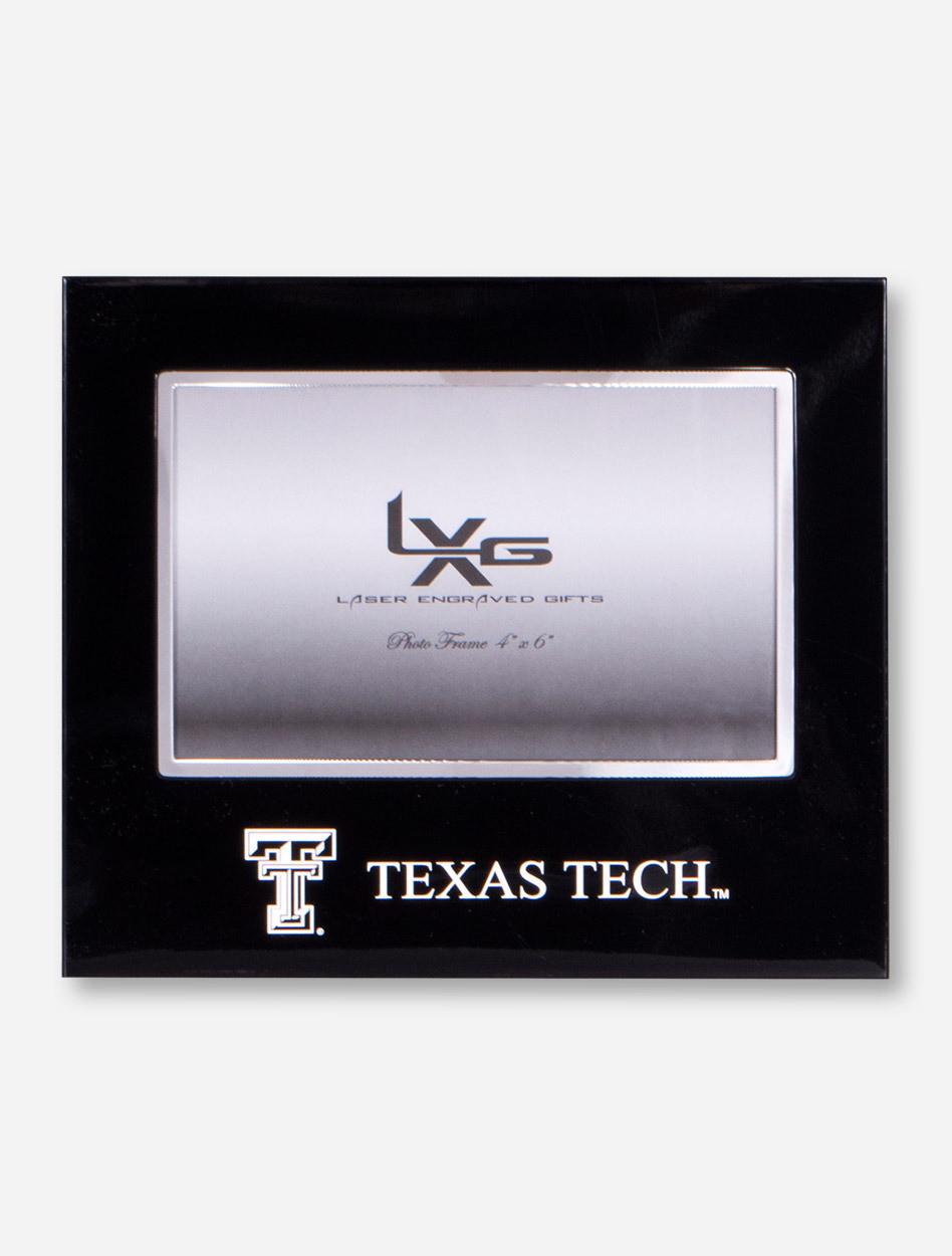 Texas Tech Streamline Chrome and Black Frame - Red Raiders