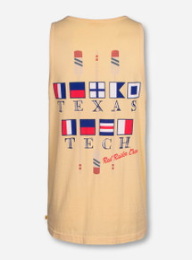 Texas Tech Crew Flag on Butter Tank Top