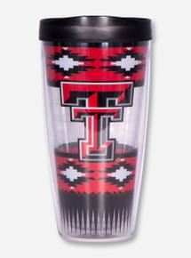 Texas Tech Aztec Double T Travel Tumbler