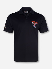 Under Armour Texas Tech Baseball CWS 2016 Polo