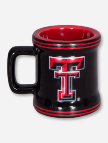 Texas Tech Double T Black Beer Stein Shaped Shot Glass