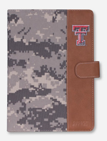 Guard Dog Texas Tech Double T on Digital Camo iPad Air Folio Case