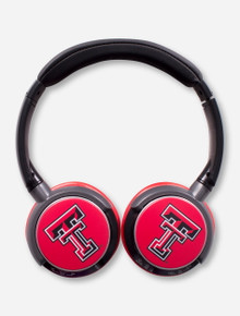 Texas Tech Double T Sonic Jam Wireless Bluetooth Headphones