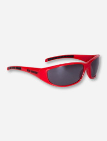 Texas Tech Red Raiders Red Wrap Around Sunglasses