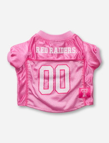 Texas Tech Red Raiders #00 Pink Pet Jersey