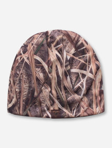 Top of the World Texas Tech Masked Rider Patch on Camo Beanie