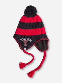"47 Brand Texas Tech ""Sherpette"" Women's Red and Black Beanie"