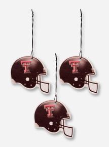 Texas Tech Football Helmet Car Air Freshener