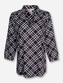 "Pressbox Texas Tech ""Bonnie"" Blouse"