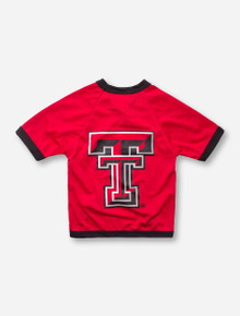 Texas Tech Double T on Red Dog Jersey