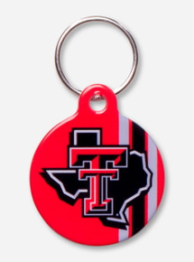 Texas Tech Lone Star Pride Dog Collar Charm