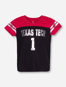 "Arena Texas Tech ""Nickle"" TODDLER Black and Red T-Shirt"