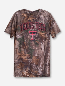 "Arena Texas Tech ""Buckshot"" YOUTH RealTree Camo T-Shirt"