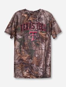 "Arena Texas Tech ""Buckshot"" YOUTH RealTree Camo T-Shirt"