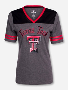 "Arena Texas Tech ""Twist"" Women's V Neck T-Shirt"