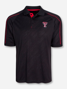 "Chiliwear Texas Tech ""Sleet"" Black Polo"