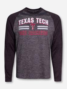 "Arena Texas Tech ""Raven"" Heather Grey Long Sleeve Shirt"
